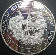 Malte, 5 Liri / 10 Ecu 1993 - Argent / Silver Proof - Malta