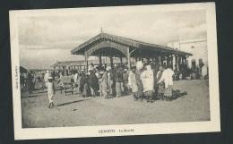 Djibouti - Le Marché  - Odf63 - Djibouti