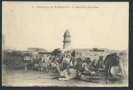 Souvenir De Djibouti - Le Marché Des Bois - Odf68 - Djibouti