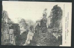 Cambodge - Angkor Thom - Le Bayon - Terrasse Supérieure   - Odf70 - Cambodia