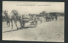Souvenirs De Djibouti - Chariot Indigènes   - Odf71 - Djibouti