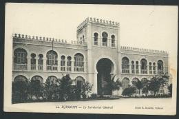 Djibouti   -  Le Secrétariat Général  Odf 77 - Djibouti