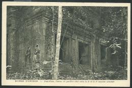Cambodge - Ruine D'Angkor - Prah-khan, Linteau Du Pabillon Situé Entre La 2è Et 3è Enceinte Orientale   Odf 80 - Cambodia