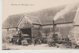 Nièvre SAINT SULPICE Domaine De Machigny (ouest) (Batteuse Machine à Vapeur) - Altri Comuni