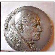 Médaille - Pape Jean-Paul II Par BELMONDO - France