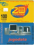 MONTENEGRO - Fotoriva 20 Years, Jugodata, 08/02, Dummy Telecard(no Chip, No CN) - Montenegro