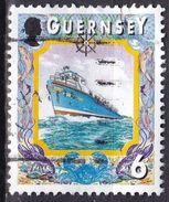Guernsey, 1998/2000 - 6p Ferry - Nr.645 Usato° - Guernsey