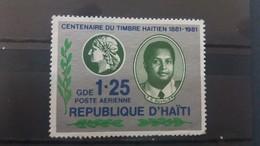 HAITI 1981 MLH CENTENARY OF HAITIAN STAMPS - Haiti