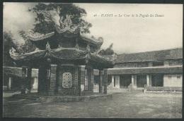 Hanoi - La Cour De La Pagode Des Dames  - Odf103 - Vietnam