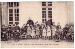 PARIS: Asile De Jeunes Infirmes, 223 Rue Lecourbe - Infirmerie - Santé, Hôpitaux