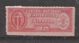España_Central Nacional Sindicalista. VALENCIA. - Emisiones Nacionalistas