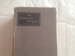 ANNUAIRE DUMONT, 1904, Deuxieme Année, LIMOGES,  LIMOUSIN - Wörterbücher