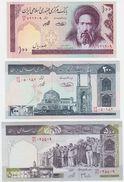 Iran SET - 100 200 500 Rials - UNC - Iran