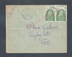 LETTRE OB COVE DAHOMEY 1950 TB A O F PAR AVION POUR PARIS : - Africa (Other)
