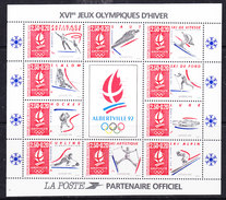 France 1999 Olympic Wintergames 10v In Sheetlet ** Mnh (F6534A) - Unclassified