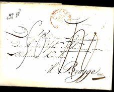 LàC  Antwerpen 27/2/1830  Koninklijke Akademie Van Beeldende Kunsten  > Brugge       Herlant N° 47 - 1815-1830 (Holländische Periode)