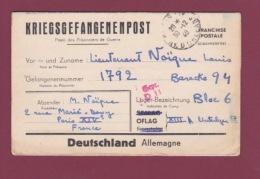 GUERRE 39/45 - 080717 - Kriegsgefangenenpost - OFLAG XIIIA  -   1940 - Gepr. D 11 - Postmark Collection (Covers)
