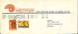 Turkey Cover Sent To Denmark Ankara 26-5-1978 - 1921-... Republic