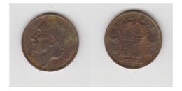 50 CTS 1983 FR - TYPE MINEUR ( FRAPPE CHIFFRE 50 TRÈS FAIBLE ) - 02. 25 Centimes