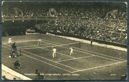 1925 GB Wimbledon Tennis RP Postcard. - Tennis