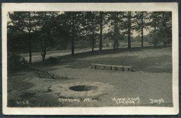 1922 GB Wimbledon Common Caesars Well RP Postcard. - Surrey