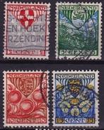 1926 Kinderzegels Complete Gestempelde Serie NVPH 199 / 202 - Usati