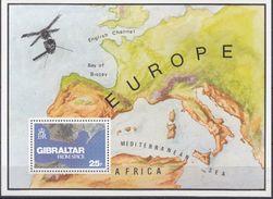 BLOC FEUILLET NUM 5** - MICHEL 372 - Gibraltar