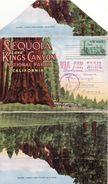 CARNET TOURISTIQUE-NATIONAL PARK-CAFORNIA-19 VUES- - Postcards
