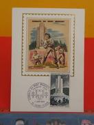Coté 3€ - Combat Du Mont Mouchet, Maquis D'Auvergne - 7.6.1969 - 15 Saint Flour - FDC 1er Jour, Carte Maxi - Cartoline Maximum