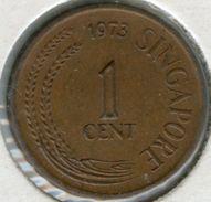 Singapour Singapore 1 Cent 1973 KM 1 - Singapur