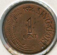 Singapour Singapore 1 Cent 1976 KM 1a - Singapour