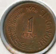 Singapour Singapore 1 Cent 1978 KM 1a - Singapour