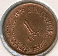 Singapour Singapore 1 Cent 1979 KM 1a - Singapour