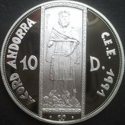 Andorre, 10 Diners 1994 - Argent / Silver Proof - Andorre