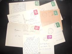 France Marianne De Cheffer , Lot De 7 Documents - 1967-70 Marianna Di Cheffer