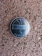 016 - 5 Méticais 2006 - Mozambique Acier Nickelé - 27 Mm - 6,5 G - Mozambique