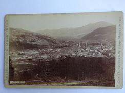 PHOTO PHOTOGRAPHIE ANSICHTEN VOM MUNSTERTHAL ALLEMAGNE DEUTSCHLAND  MUSNTER 1893 - Oud (voor 1900)