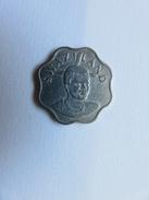 019 - 10 Cents - 1998 - Swaziland Laiton Nickelé - 22 Mm - 3,6 G - Swaziland