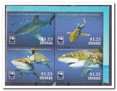 Grenada 2014, Postfris MNH, WWF, Fish - Grenada (1974-...)