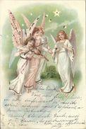 4   ANGES  ANGELOTS  CHANT  ET  VIOLON   ET   BRILLANTS - Anges