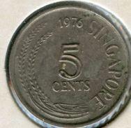 Singapour Singapore 5 Cents 1976 KM 2 - Singapour