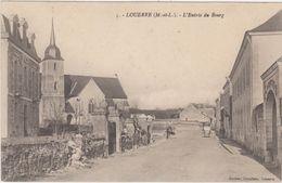 49.Louerre.L'Entrée Du Bourg. - Andere Gemeenten