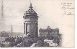 Mannheim - Wasserthurm   - **3725** - Mannheim