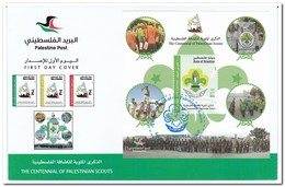 Palestina 2014, Postfris MNH, Palestinian Scouts - Palestina