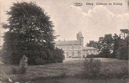 Ohey - Château De Wallay (Edit Vve Toussaint, 1911...pli Coin) - Ohey