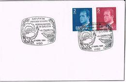 24857. Carta VIGO (pontevedra) 1984. Reserva Natural A ZARROTA. Natura 84 - 1931-Hoy: 2ª República - ... Juan Carlos I