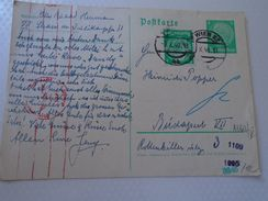 AD00003.12 Austria  Postkarte - Postal Stationery  1940  Censure - Gebraucht