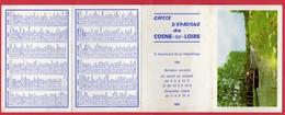 -- COSNE Sur LOIRE (Nièvre) - PETIT CALENDRIER De La CAISSE D'EPARGNE -- - Calendriers