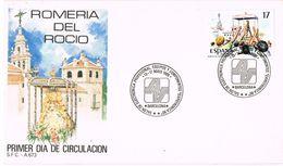 24860. Carta BARCELONA 1988. Salon De Electronica. Romeria Rocio - 1931-Hoy: 2ª República - ... Juan Carlos I