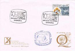 24861. Carta SABADELL (barcelona) 1988. Amics De Les Arts I Lletres - 1931-Hoy: 2ª República - ... Juan Carlos I